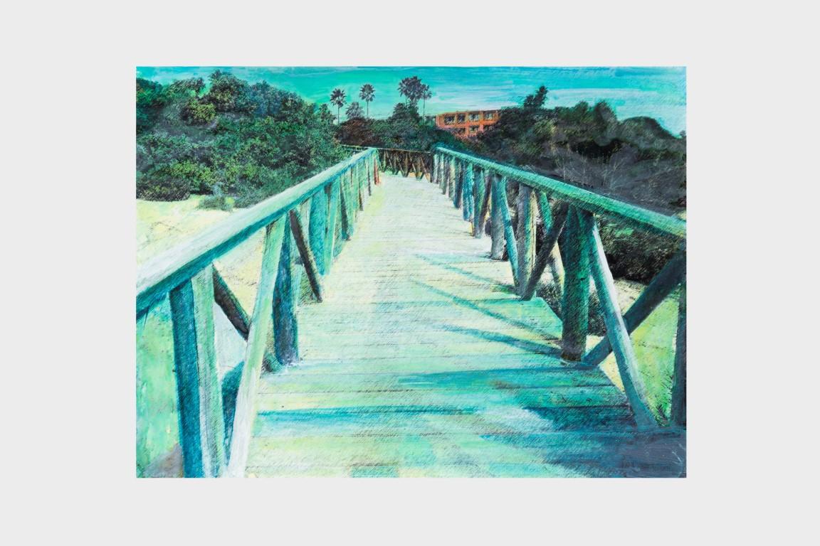 Puente sobre arena